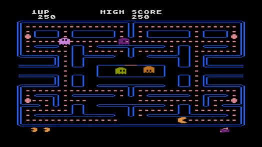 Pac Man (1982) (Atari)