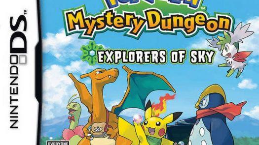 Pokemon Mystery Dungeon - Explorers of Sky