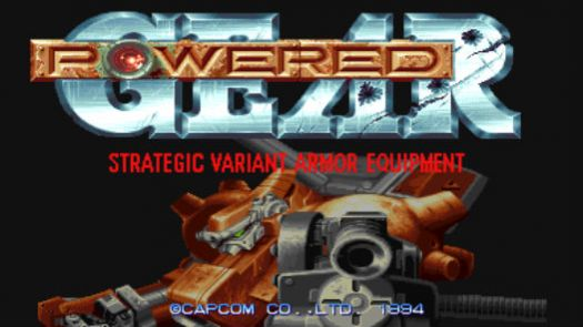 POWERED GEAR - STRATEGIC VARIANT ARMOR EQUIPMENT (JAPAN) (CLONE)