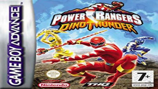 Power Rangers Dino Thunder (RisingCaravan) (EU)
