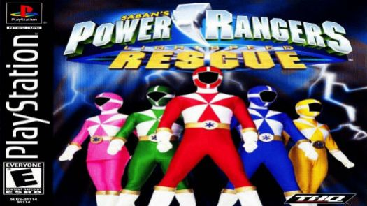 Power Rangers Lightspeed Rescue [SLUS-01114]