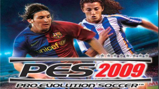 Pro Evolution Soccer 2009 (Europe)