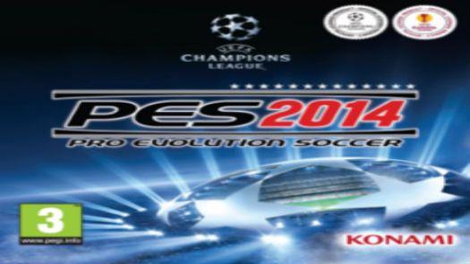 Pro Evolution Soccer 2014 (Europe) (Es,Pt)