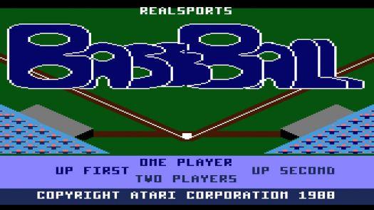 Real Sports Baseball