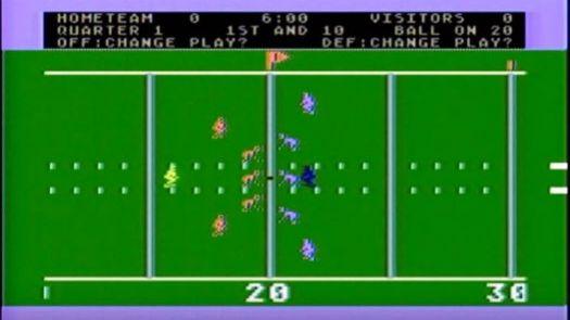 Realsports Football (1982) (Atari)