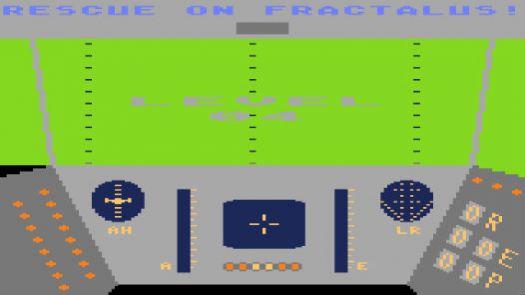 Rescue on Fractalus (1984) (Atari-Lucasfilm Games)
