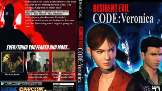 Resident Evil Code Veronica - Disc #2