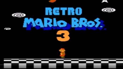 Retro Mario Bros 3 (SMB3 Hack) (Old)