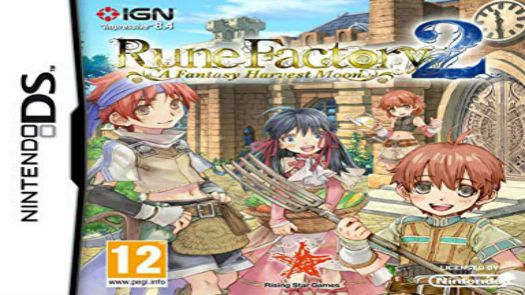 Rune Factory 2 - A Fantasy Harvest Moon