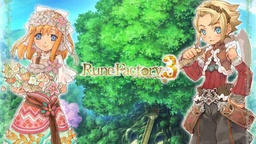 Rune Factory 3 - A Fantasy Harvest Moon