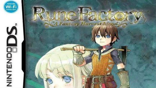 Rune Factory - A Fantasy Harvest Moon (EU)
