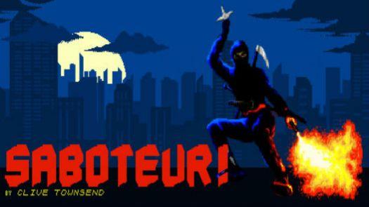 Saboteur (1986)(Durell)(128k)