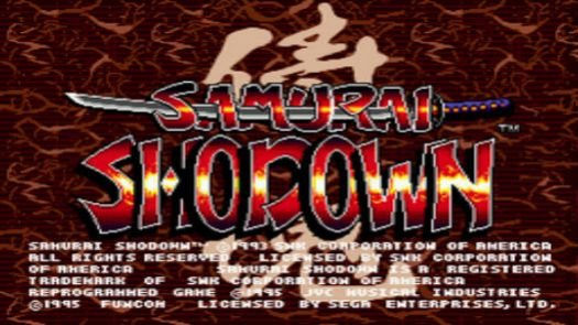 Samurai Shodown (U)