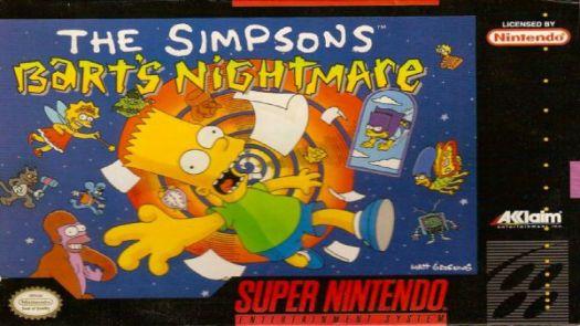 Simpsons, The - Bart's Nightmare