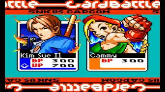 SNK Vs Capcom - Card Fighters Clash 2 - Expand Edition
