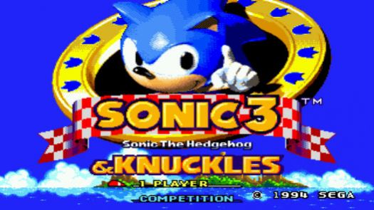 Sonic And Knuckles & Sonic 3