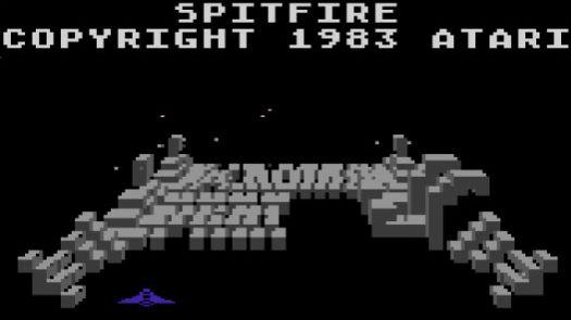Spitfire (1984) (Atari)