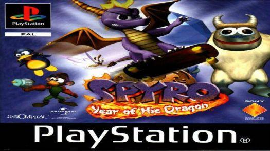 Spyro - Year Of The Dragon (EU)