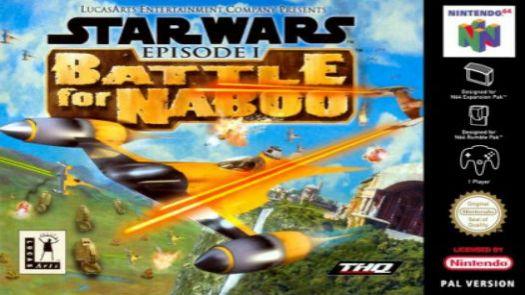 Star Wars Episode I - Battle for Naboo (E)