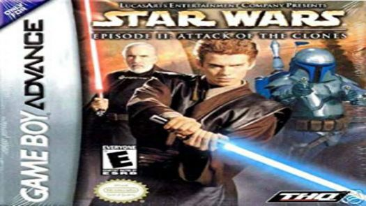 Star Wars Episode II - Attack Of The Clones (EU)