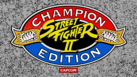 STREET FIGHTER II - CHAMPION EDITION
