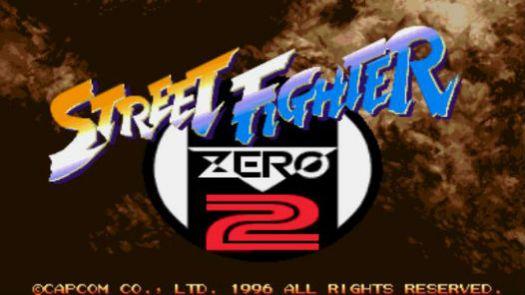 Street Fighter Zero 2 Alpha (Asia)