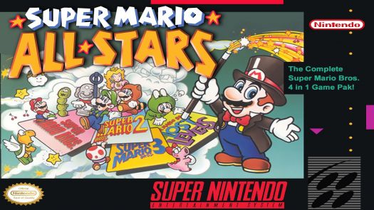 Super Mario All-Stars + Super Mario World (EU)