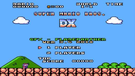 Super Mario Bros DX (SMB1 Hack)