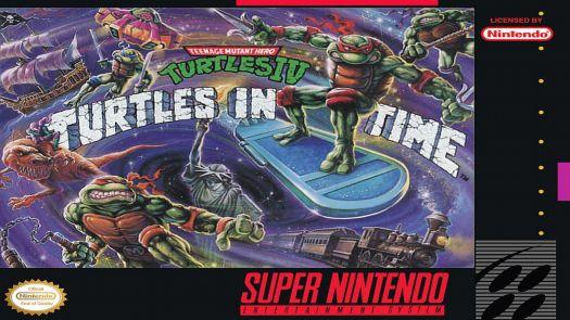 Teenage Mutant Hero Turtles IV - Turtles In Time (EU)