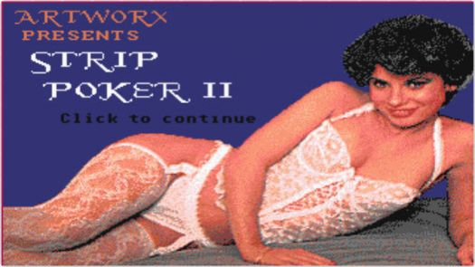 Teenage Queen - Atari Hentai Strip Poker (Disk 1 of 2)