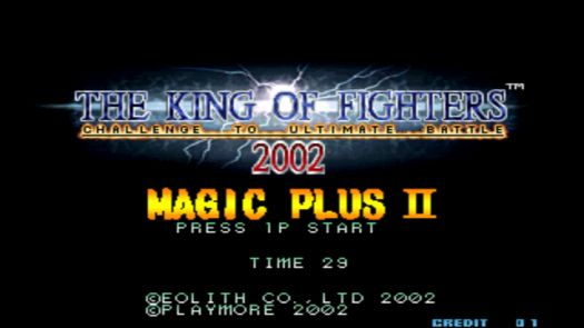 The King of Fighters 2002 Magic Plus II