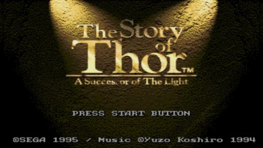 The Story of Thor  A Successor of the Light