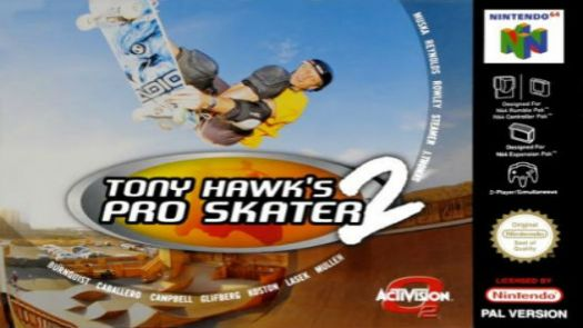Tony Hawk's Pro Skater 2 (E)
