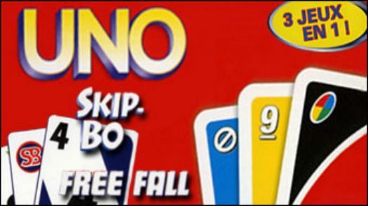 Uno - Skip-Bo - Uno Free Fall (3 Game Pack) (U)(Sir VG)