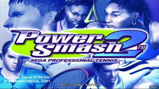 Virtua Tennis 2 ~ Power Smash 2 (Rev A)