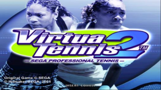 Virtua Tennis 2 Sega Professional Tennis (E)