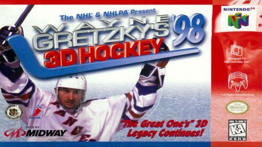 Wayne Gretzky's 3D Hockey '98 (E)