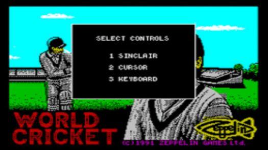 World Cricket (1991)(Zeppelin Games)