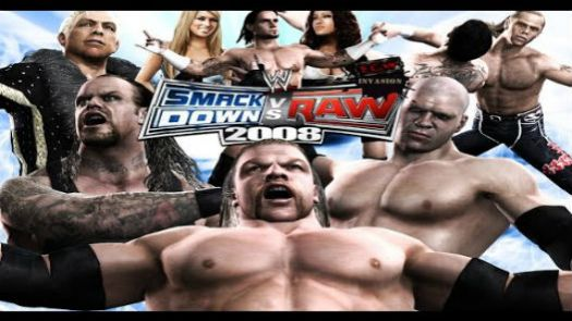 WWE SmackDown! vs. RAW 2008 featuring ECW
