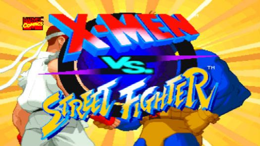X-MEN VS. STREET FIGHTER (EUROPE)