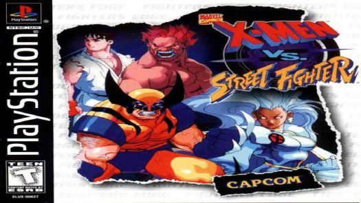 X Men Vs. Street Fighter [SLUS-00627]