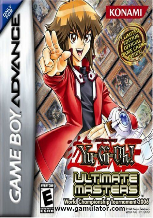 yugioh ultimate masters 2006 rom free download for gba